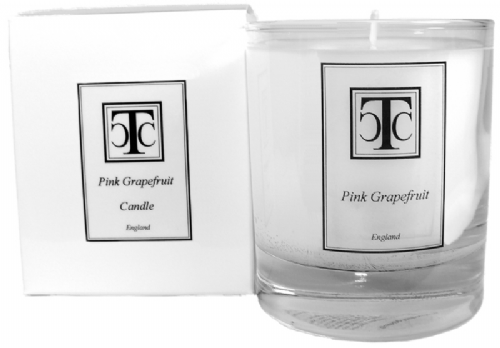 Pink Grapefruit Scented Candle 60 hour